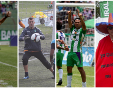 Los equipos tuvieron mucho que celebrar en la fase de clasificación del Clausura 2019. (Foto Prensa Libre: Carlos Vicente y Norvin Mendoza)