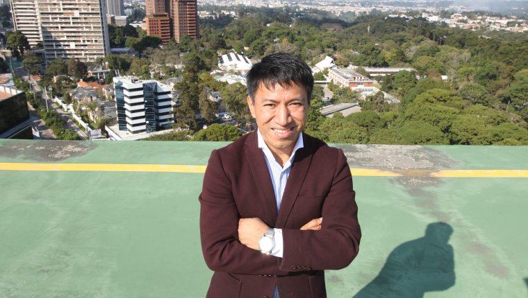 Marcos Antil es el fundador de la empresa Xumak. (Foto Prensa Libre: Esbin García)