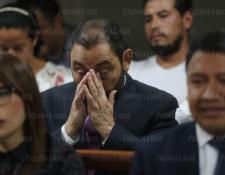 Mauricio López Bonilla, exministro de Gobernación, fue condenado a 13 años y 9 meses de prisión y a una multa de Q562 mil por peculado y por uso y fraude en el caso patrullas fase II.  (Foto Prensa Libre: Ercik Ávila).