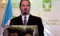 Mario Leal, excandidato a la vicepresidencia por la UNE. (Foto Prensa Libre: Hemeroteca PL)