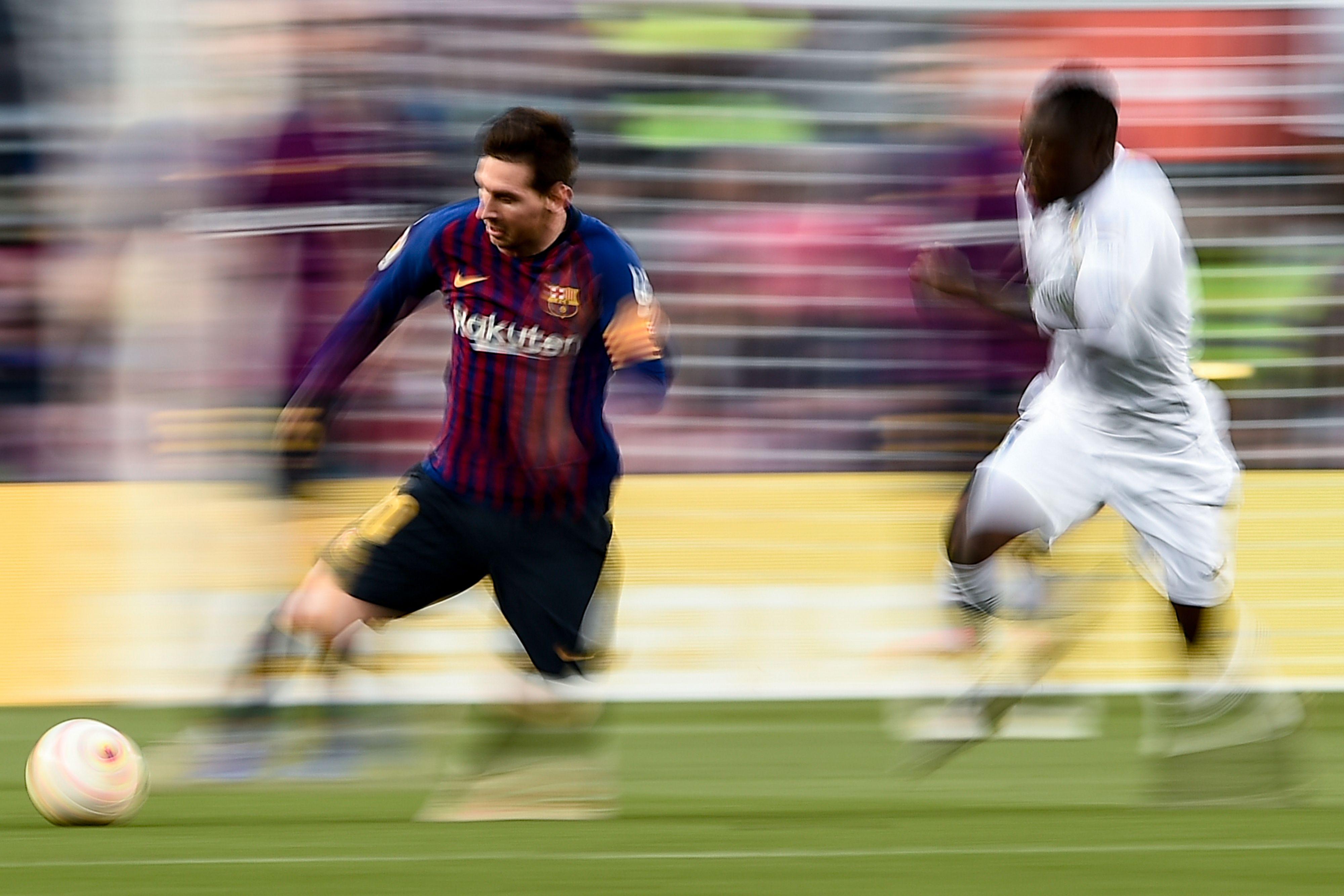Lionel Messi es toda una leyenda en la tabla histórica de goleadores. (Foto Prensa libre: AFP)
