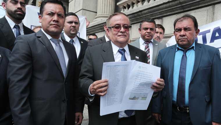 Mauricio Radford, candidato presidencial proclamado por Fuerza. (Foto Prensa Libre: Hemeroteca PL)