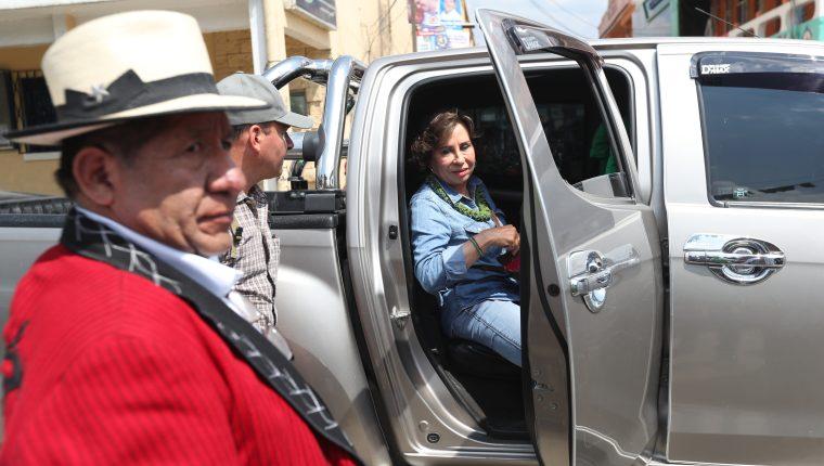 Sandra Torres fue denunciada por la Feci y la Cicig el 7 de febrero pasado. (Foto Prensa Libre: Hemeroteca PL)