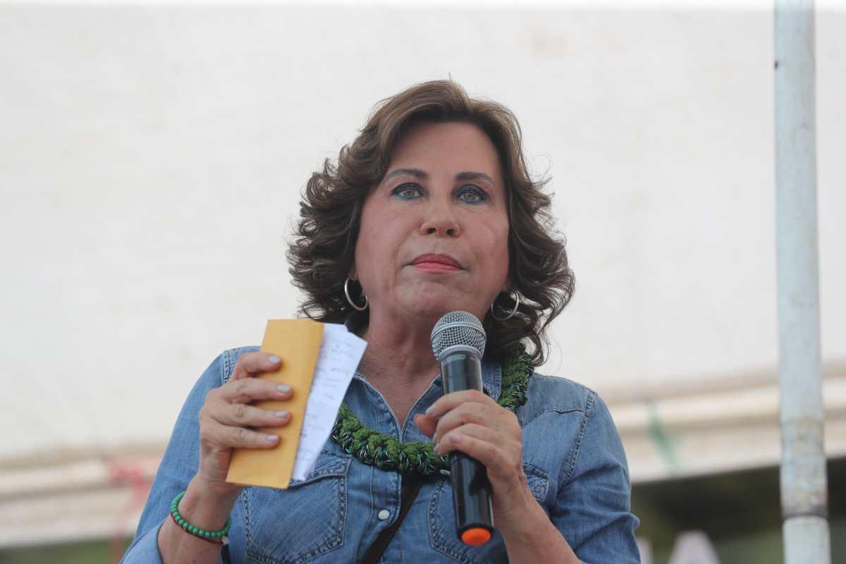 Candidata Sandra Torres que denunció un medio propone proteger a periodistas