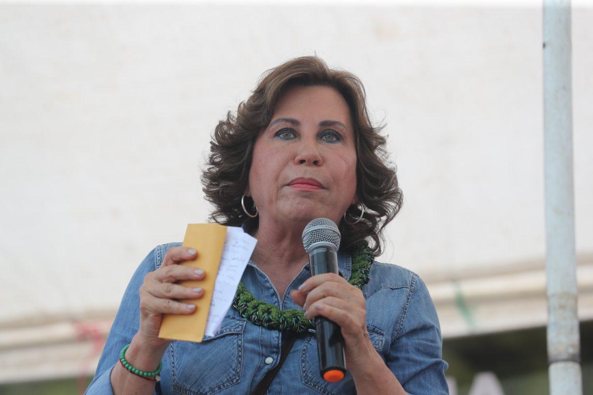 Ante el repudio generalizado, Sandra Torres desiste de acciones contra elPeriódico