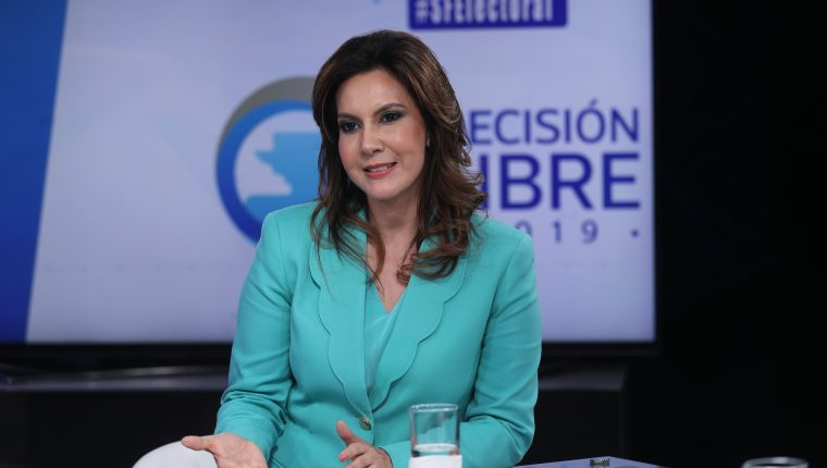 Zury Ríos irá a instancias internacionales para seguir en la contienda electoral. (Foto Prensa Libre: Hemeroteca PL)