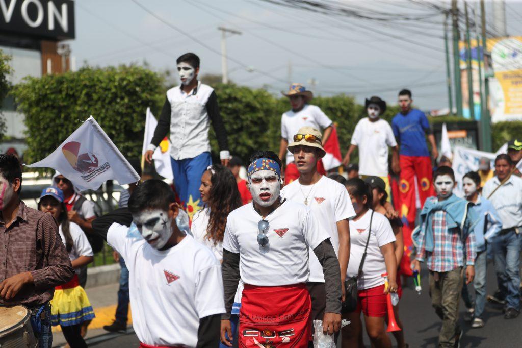 Algunas organizaciones se unieron en apoyo a la marcha.