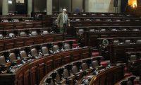 El primer periodo de sesiones ordinarias de este año fue el más improductivo de los siete que han pasado durante la Octava Legislatura. (Foto Prensa Libre: Hemeroteca PL)