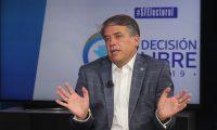 Edwin Felipe Escobar, candidato presidenciable del partido Prosperidad Ciudadana en el programa sin filtro donde presenta su plan de trabajo.   Fotograf'a: Erick Avila.     09/05/2019