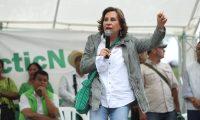 Sandra Torres, aspirante presidencial de la UNE. (Foto Prensa Libre: Hemeroteca PL)