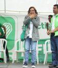 Sandra Torres, candidata presidencial de la UNE. (Foto Prensa Libre: Hemeroteca PL)