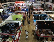 El Apparel Sourcing Show 2019 presenta los suministros de la industria de vestuario y textiles. (Foto Prensa Libre: Esbin García).