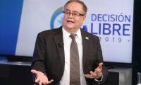 Mauricio Radford fue candidato a presidente por el Partido Fuerza. (Foto Prensa Libre: Hemeroteca PL)