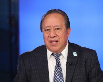 Rudy González, candidato a diputado por el partido Viva, en el programa Sin Filtro Electoral. (Foto Prensa Libre: Erick Ávila)