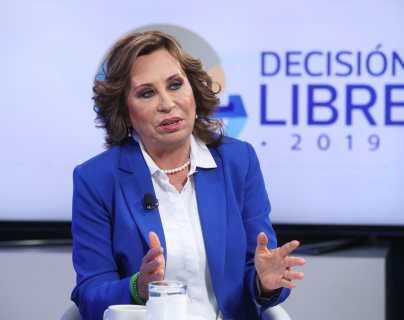 Sandra Torres: Hay que ponerle orden al Estado, con austeridad