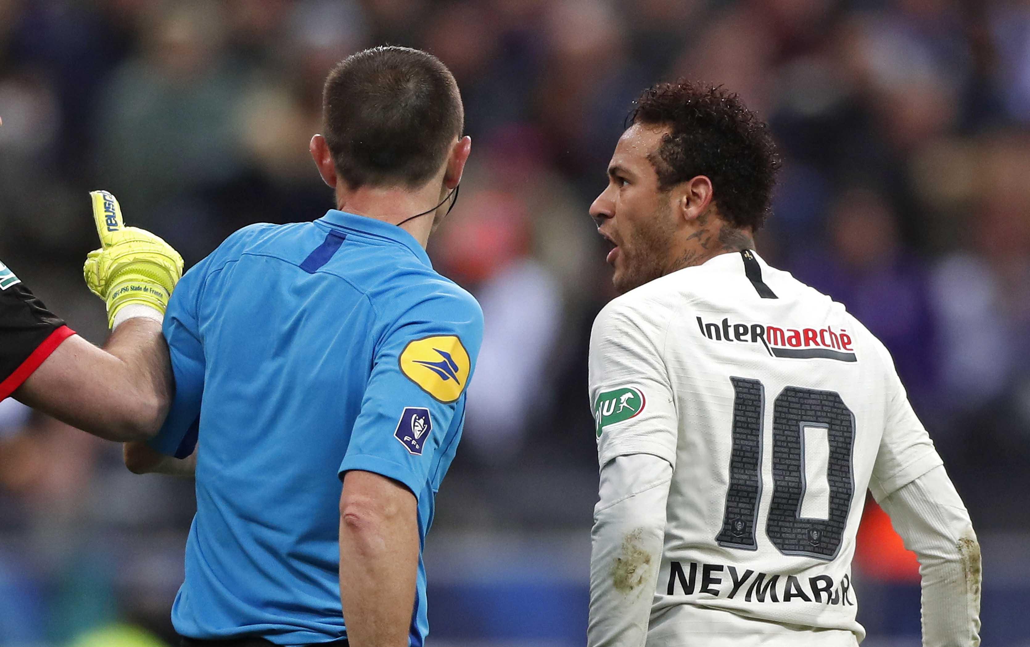 Neymar protagonizó varios actos de indisciplina en los últimos días. (Foto Prensa Libre: EFE)