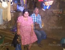 Tránsito Gutiérrez Oloroso y su esposo Tanerjo De León, padres de Juan de León Gutiérrez, el menor que murió mientras estaba en custodia de EE. UU. (Foto Prensa Libre: Hemeroteca PL)