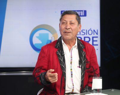 Pablo Ceto, candidato presidencial de URNG- Maíz, participó en el programa Sin Filtro Electoral. (Foto Prensa Libre: Erick Ávila)