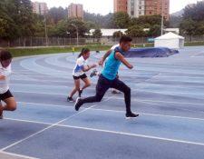 Los paraatletas nacionales tienen una dura misión en Colombia. (Foto Prensa Libre: COG)