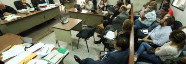 El Tribunal Octavo Penal, que preside Oly González, declaró improcedente la petición de reparación digna al Estado en el caso Patrullas fase dos. (Foto Prensa Libre: Esbin García)