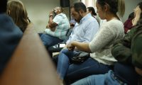 El exministro de Gobernación, Mauricio López Bonilla, es uno de los condenados en este caso. (Foto Prensa Libre: Esbin García)