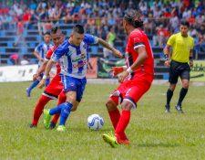 Quiché FC podrá seguir sin dificultad su camino en la fase final de la primera. (Foto Prensa Libre: Hemeroteca PL)