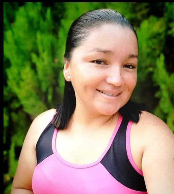 La profesora de educación física Flor de María Velásquez Aldana, de 28 años, deja dos niños en la orfandad. (Foto tomada de Facebook)