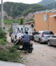 El hecho se registró en la casa del joven en Prados de Cannán, Chiquimula. (Foto Prensa Libre: Mario Morales)
