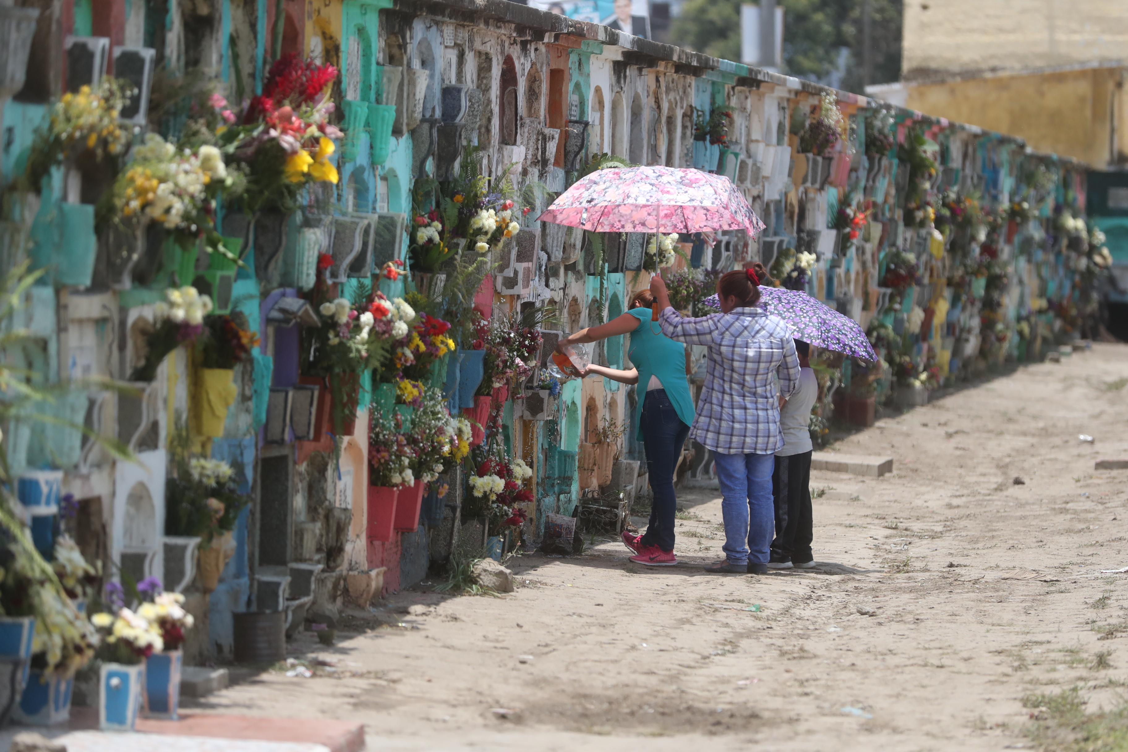 Por falta de pagó exhumarán cien cadáveres en el cementerio general. (Foto Prensa Libre: Mynor Toc)