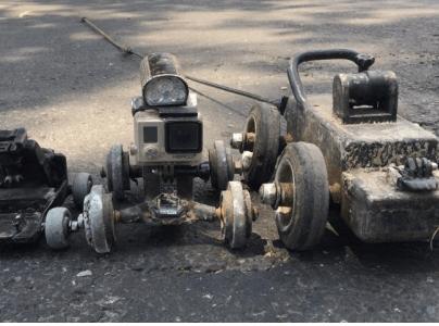 Robots detectan drenajes colapsados y conexiones ilegales en tuberías