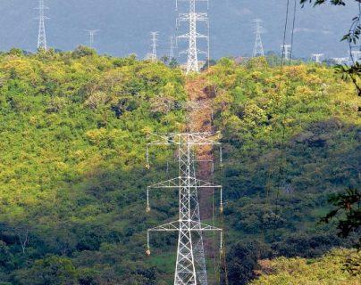 El área de transmisión eléctrica, así como generación de energía sin de interés para funcionarios y empresas coreanas. (Foto, Prensa Libre: Hemeroteca PL).