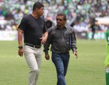Ronald Gómez aseguró que Malacateco va en buen camino y tiene un futuro prometedor. (Foto Prensa Libre: Carlos Vicente)