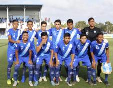 La Selección Sub 17 de Guatemala sufrió al ser goleada contra Canadá. (Foto Prensa Libre: Fedefut)