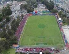 Deportivo Suchitepéquez espera sentirse como en casa en el estadio El Trébol. (Foto Prensa Libre: CSD Suchitepéquez)