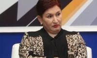 Thelma Aldana anunció en 2018 sus intenciones de participar en el proceso electoral, pero no logró ser candidata. (Foto Prensa Libre: Hemeroteca PL)