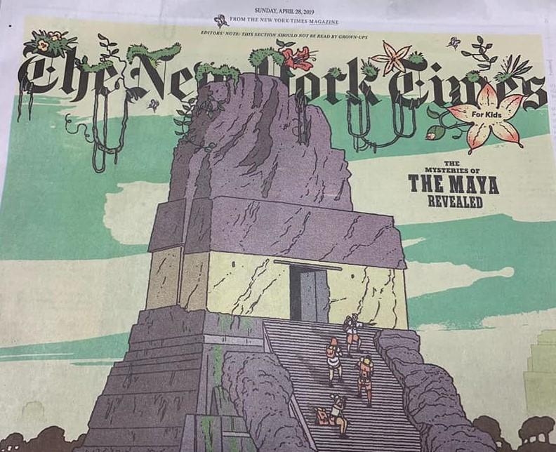 Tikal y los misterios de los mayas destacan en edición especial de The New York Times