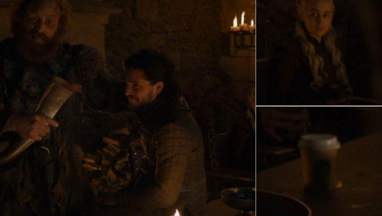 Un error que puede verse en el episodio 4 de la última temporada está causando furor en redes sociales. (Foto Prensa Libre: Twitter)