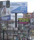 Los partidos políticos sólo tienen cuatro semanas de campaña (Foto Prensa Libre: Hemeroteca PL).