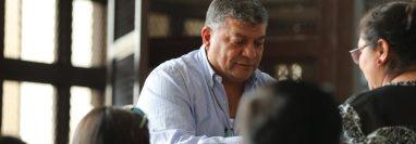 Walter Obdulio Mendoza Matta fue condenado a 16 años de prisión. (Foto Prensa Libre: Érick Ávila)