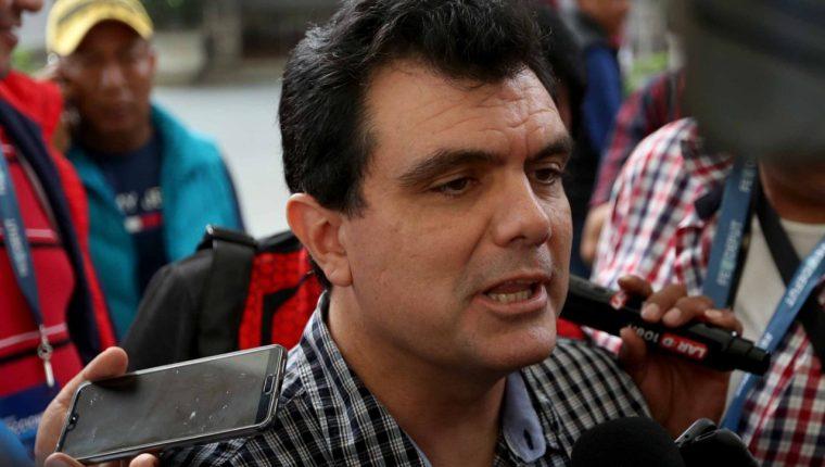 Gerardo Paiz ya fue parte del Comité Ejecutivo de la Fedefut durante la administración del suspendido y condenado Brayan Jiménez. (Foto Prensa Libre: Carlos Vicente)