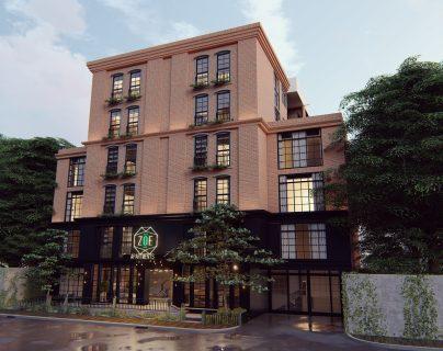 Zoe Apartments se ubica en el área de La Villa, zona 14 de Ciudad de Guatemala. (Foto, Prensa Libre: Íntegro).