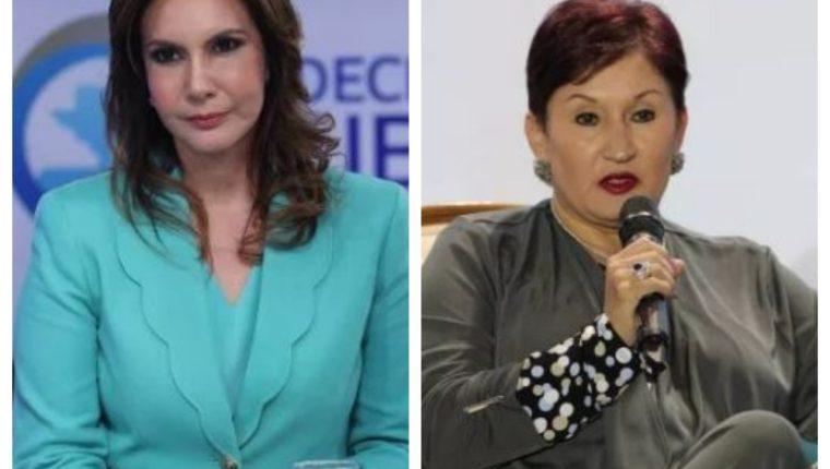 Las candidaturas presidenciales de Zury Ríos y Thelma Aldana fueron rechazadas por la Corte de Constitucionalidad (Foto Prensa Libre: Hemeroteca PL)