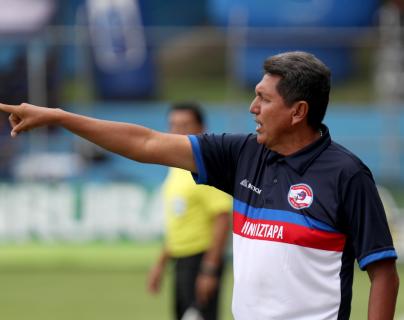 Francisco Melgar se siente emocionado por su nueva aventura en el futbol nacional, ahora con Santa Lucía Cotz. (Foto Prensa Libre: Hemeroteca PL)