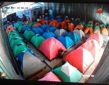 Vista de uno de los  albergue que funciona en Tijuana. (Foto: Movimiento Juventud 2000)