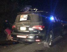 El político se trasladaba en una camioneta junto a su esposa en Oaxaca. (Foto Prensa Libre: @camaradamarko)