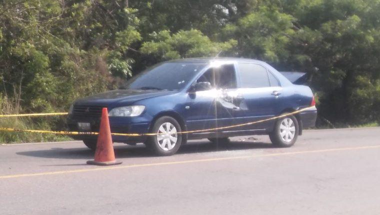 El ataque armado contra Rudy Monzón ocurrió en Quesada, Jutiapa. (Foto Prensa Libre: Canal Diez Catempa)