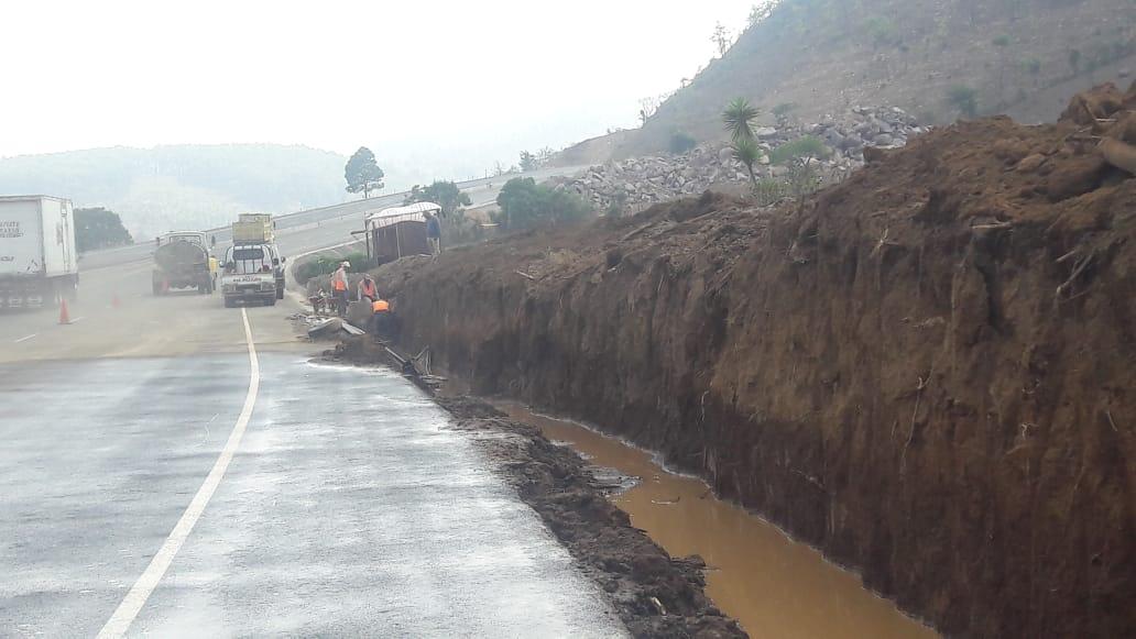 Luego de la inundación, así agilizan las obras en el Libramiento de Chimaltenango