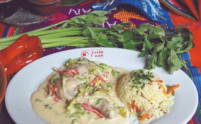 Receta Prepare Un Pollo Con Crema Y Loroco Prensa Libre