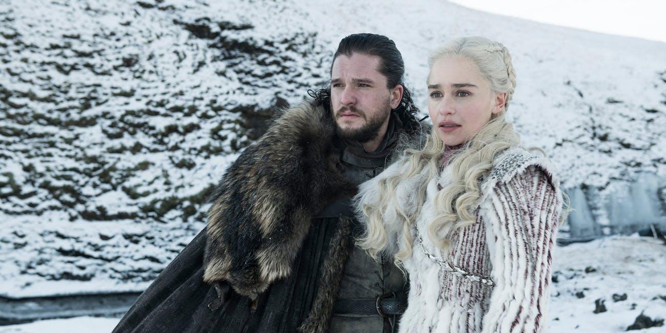 Jon Snow y Daenerys Targaryen. ¿Quién ganará el Juego de Tronos? (Foto Prensa Libre: HBO).
