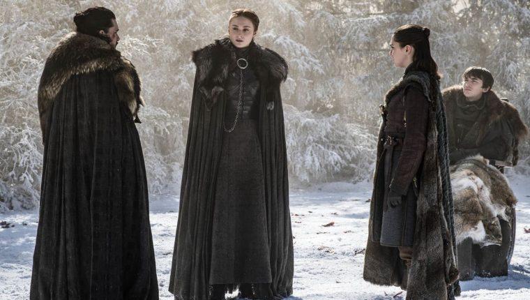 La Casa Stark, para servirnos (Foto Prensa Libre: HBO).